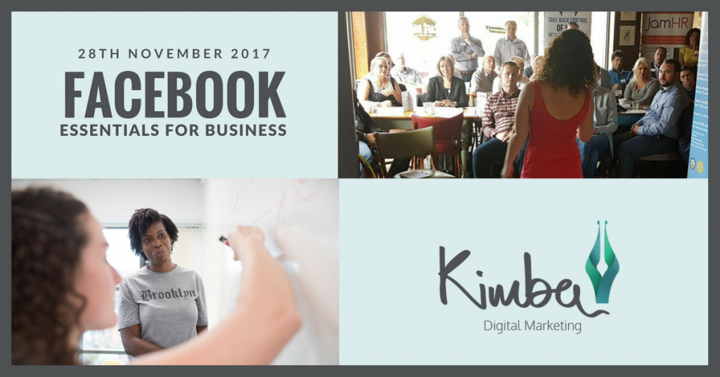 Facebook Essentials for Business workshop
